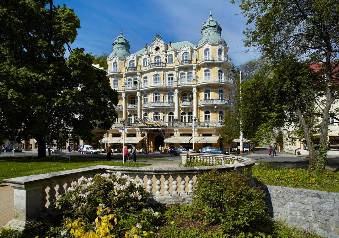Tschechien marienbad 8 tage hotel bohemia 4 sterne inkl for 4 sterne hotel dortmund